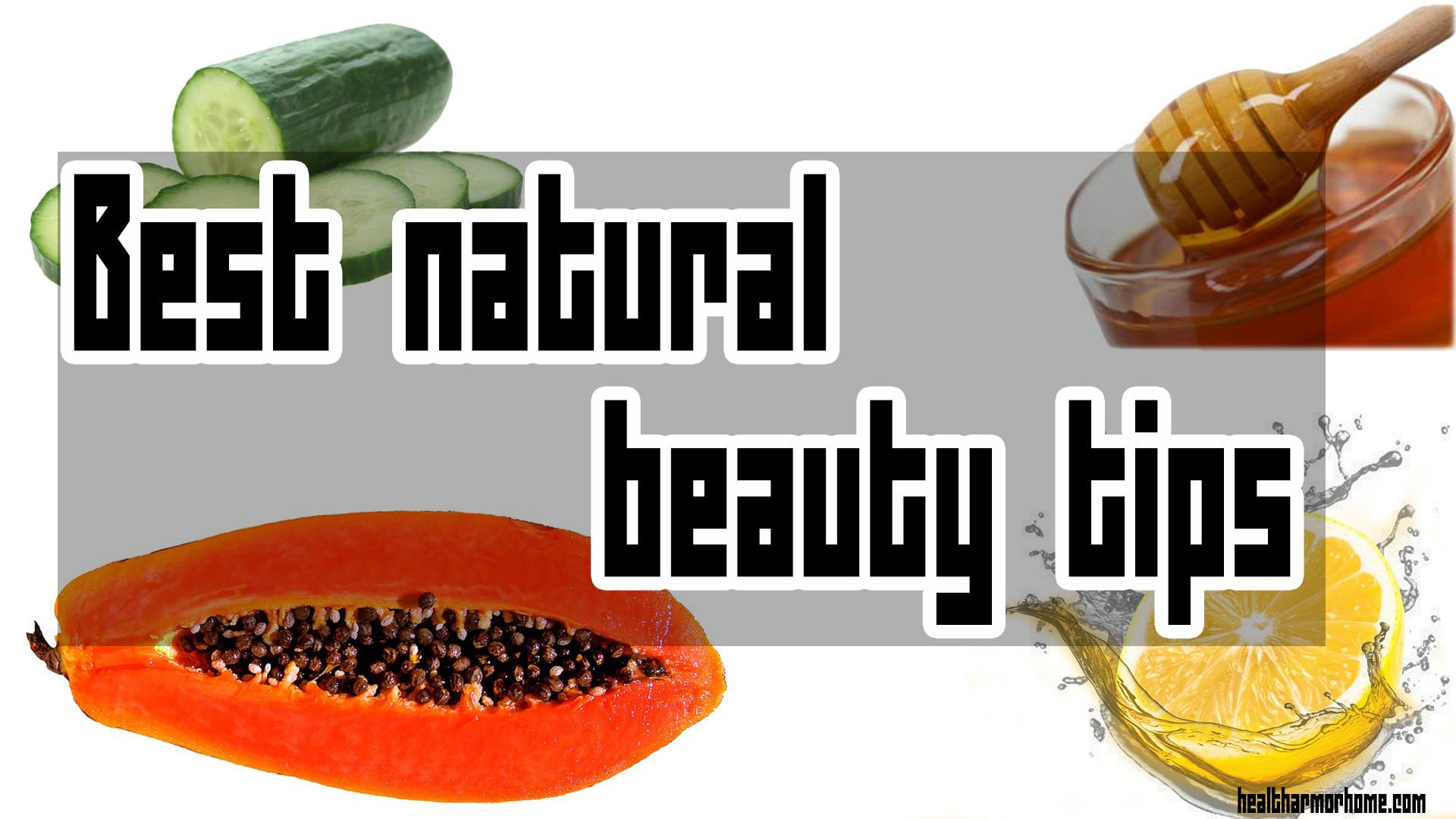 Best Natural Beauty Tips Tricks Without Makeup