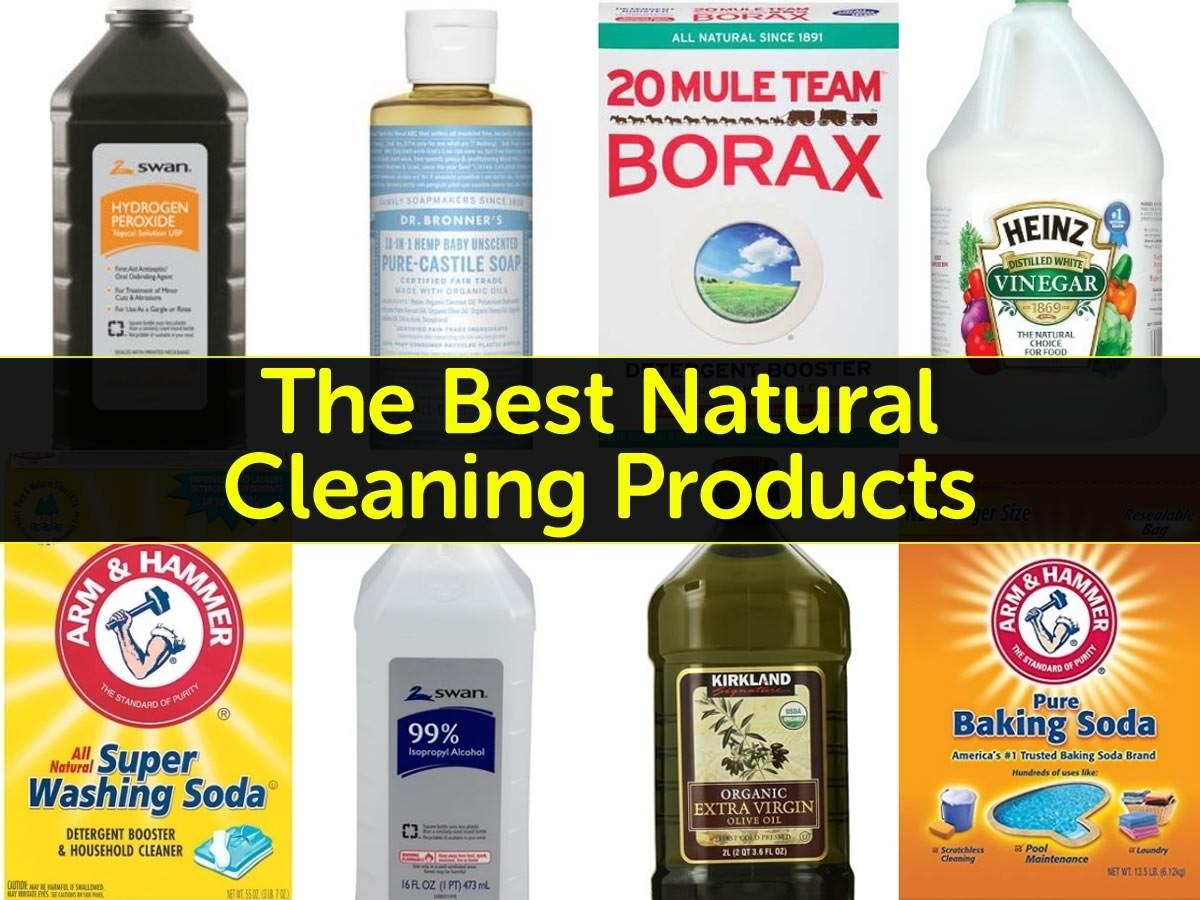 Best Natural Cleaning Products Your Home