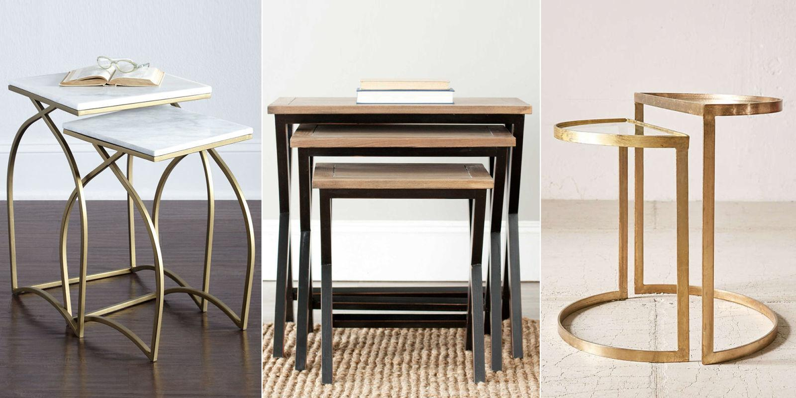 Best Nesting Tables 2018 Chic