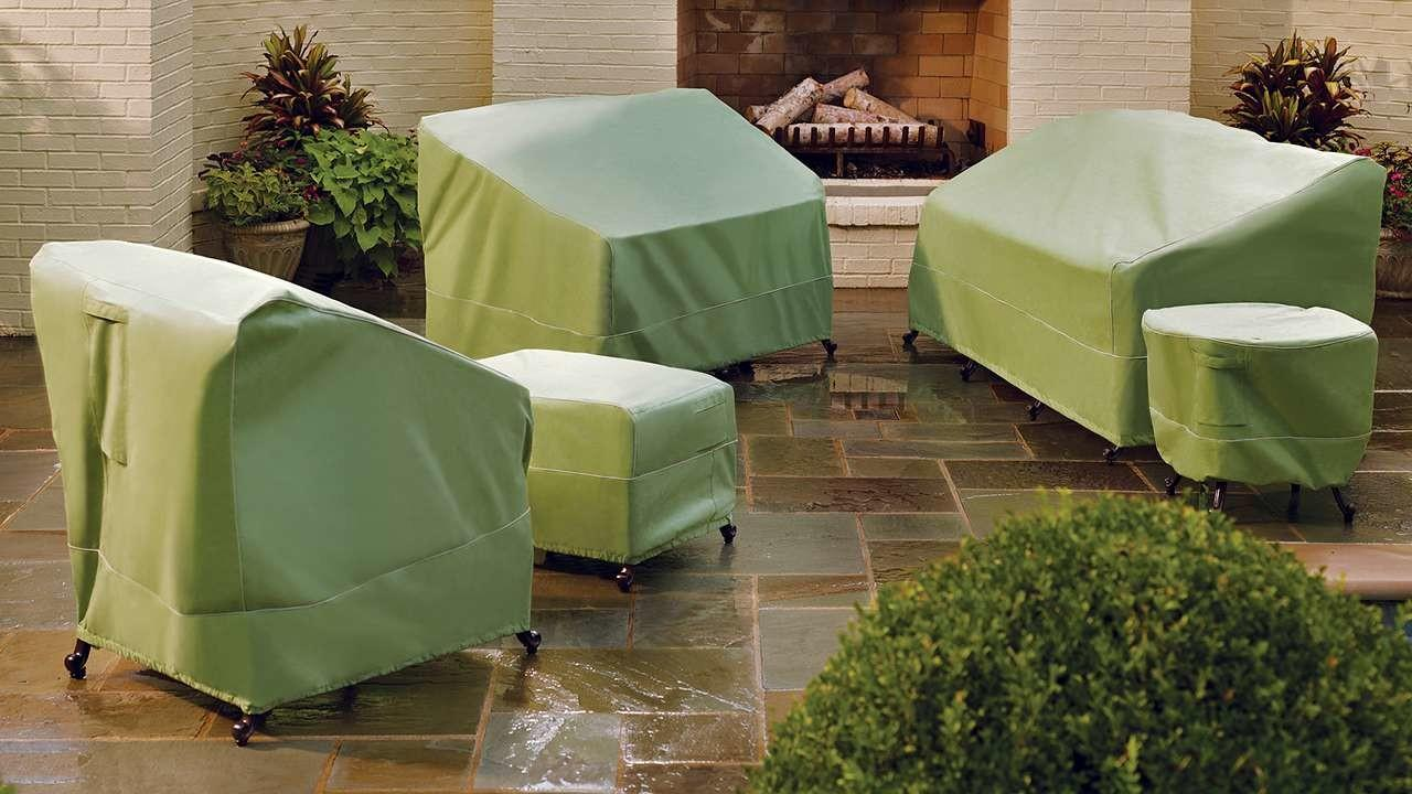 Best Outdoor Patio Furniture Covers Winter Storage