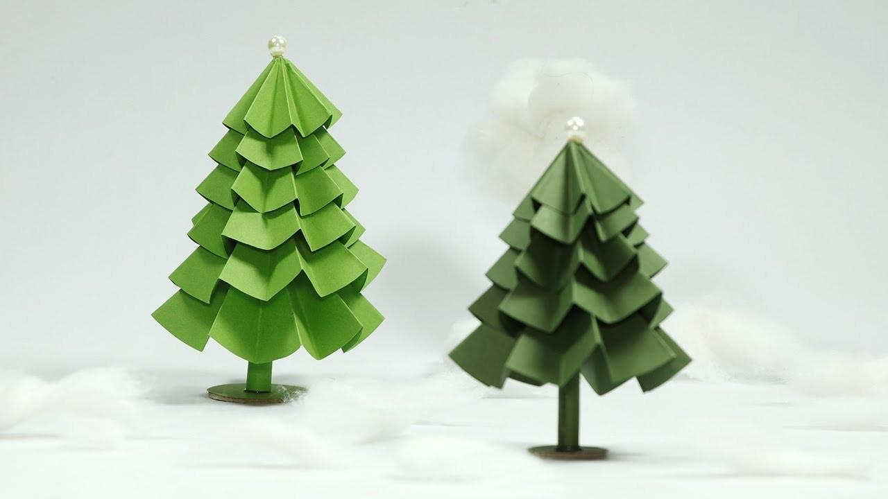 Best Paper Christmas Tree Crafts