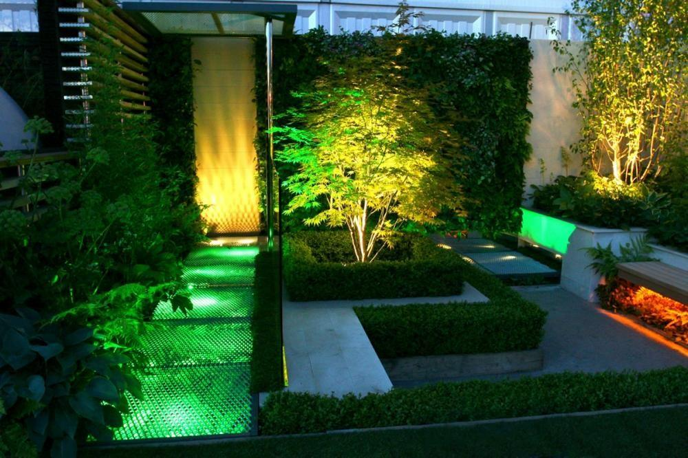 Best Patio Garden Landscape Lighting Ideas 2014