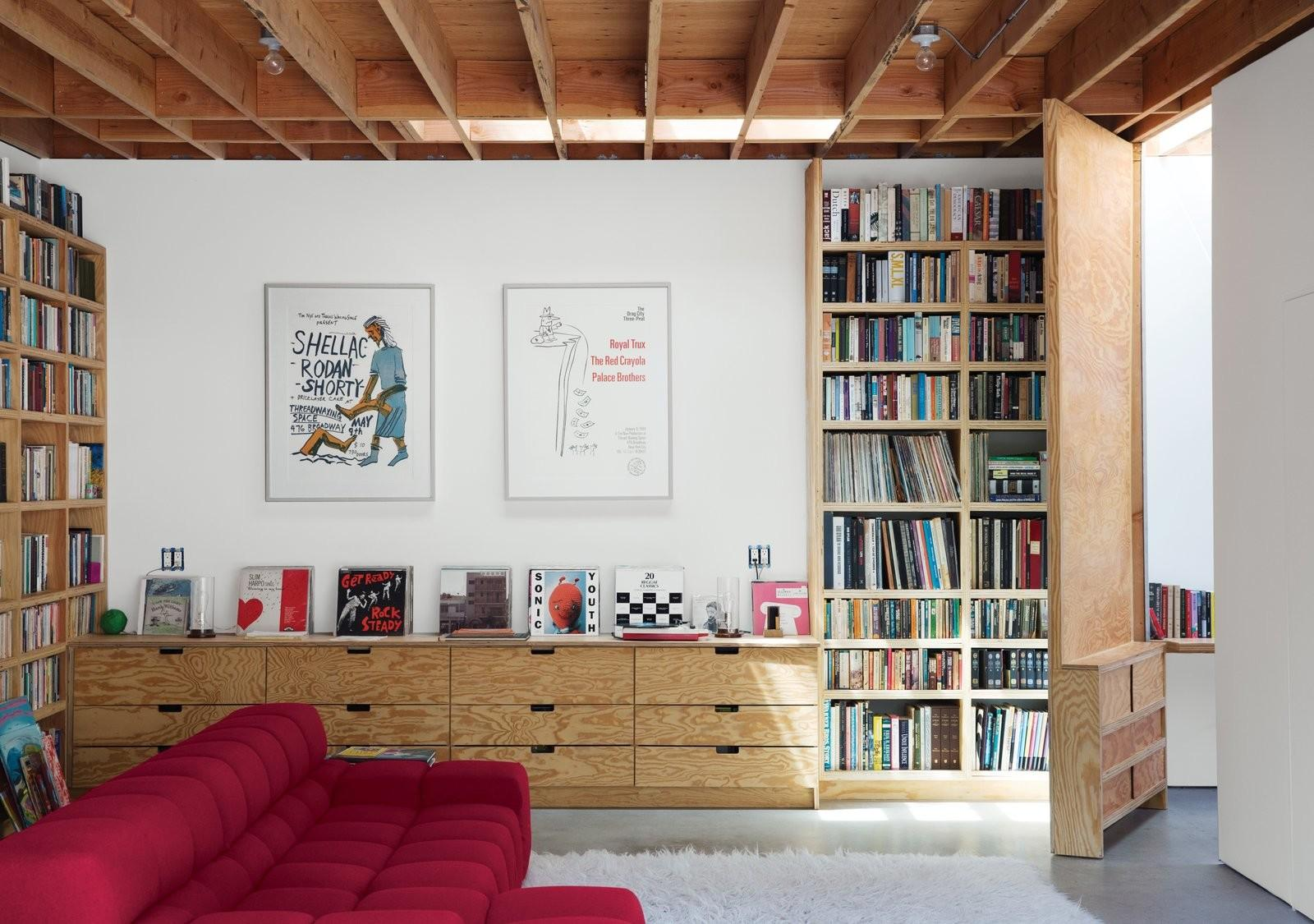 Best Photos Modern Homes Libraries Dwell