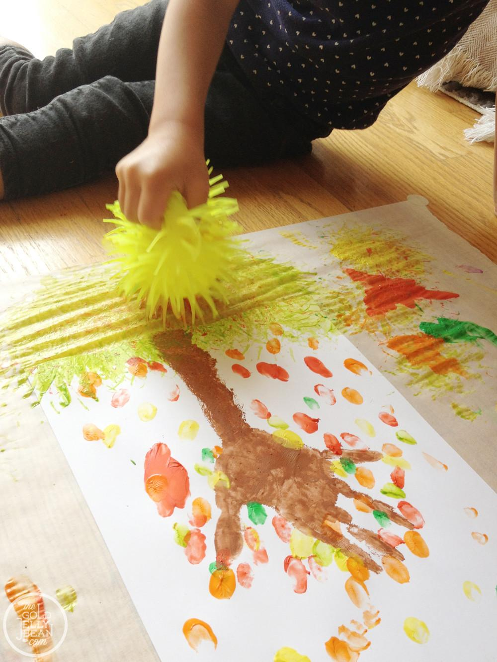 Best Photos Toddler Fall Craft Projects