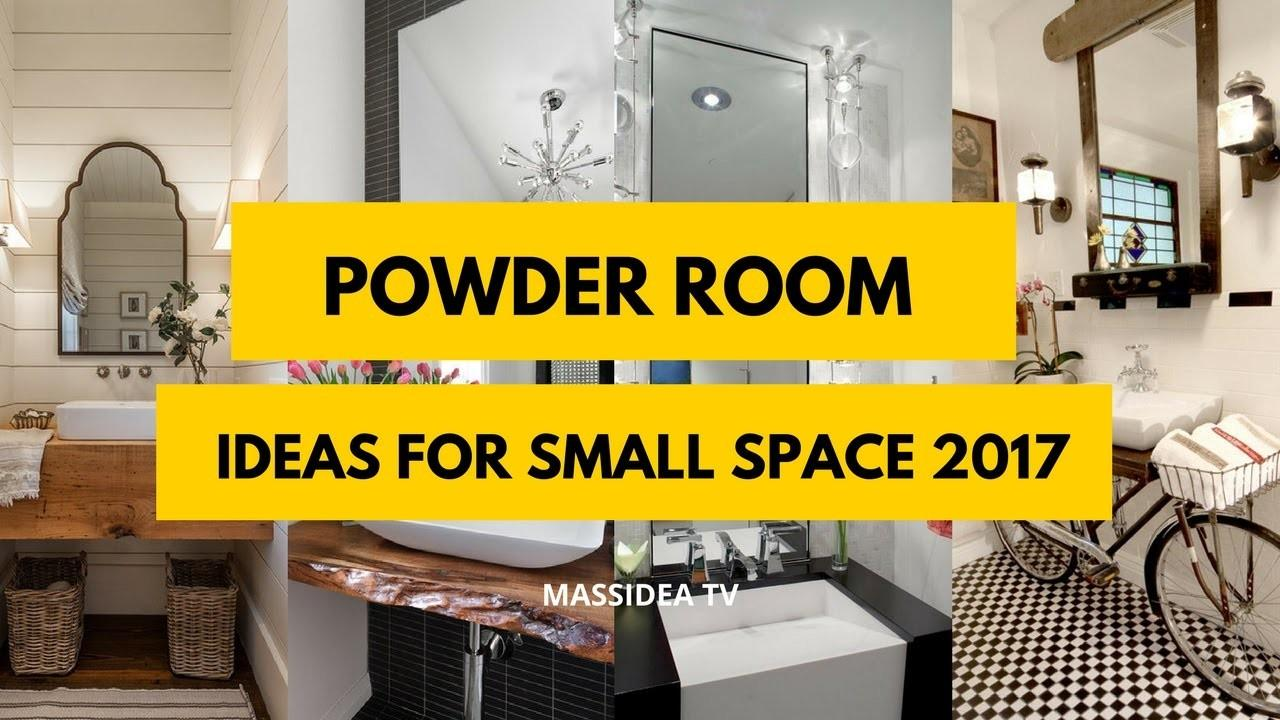 Best Powder Room Ideas Small Space 2017