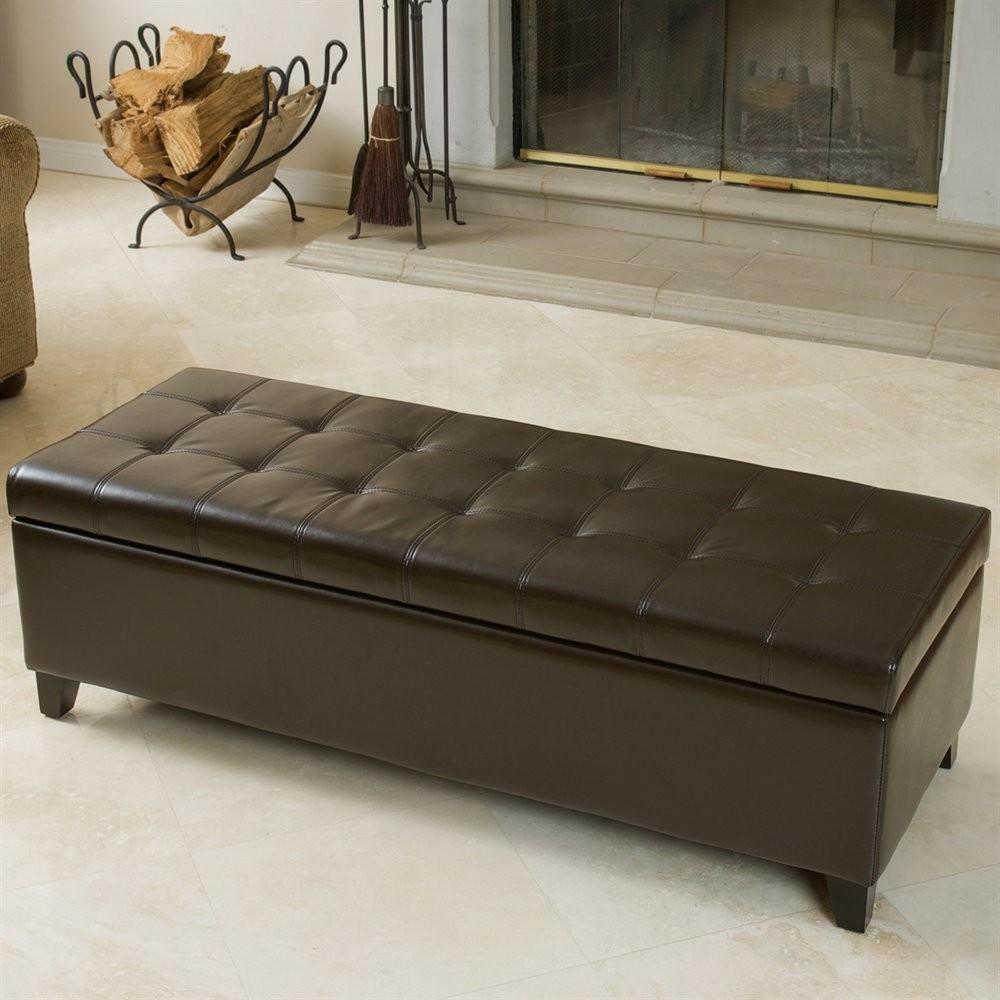 Best Selling Home Decor Mission Tufted Storage Ottoman