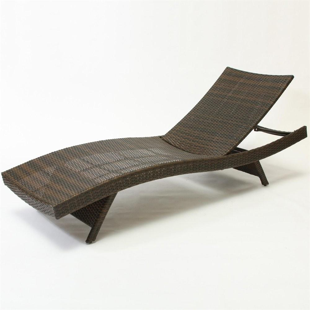 Best Selling Home Decor Outdoor Wicker Lounge Chair