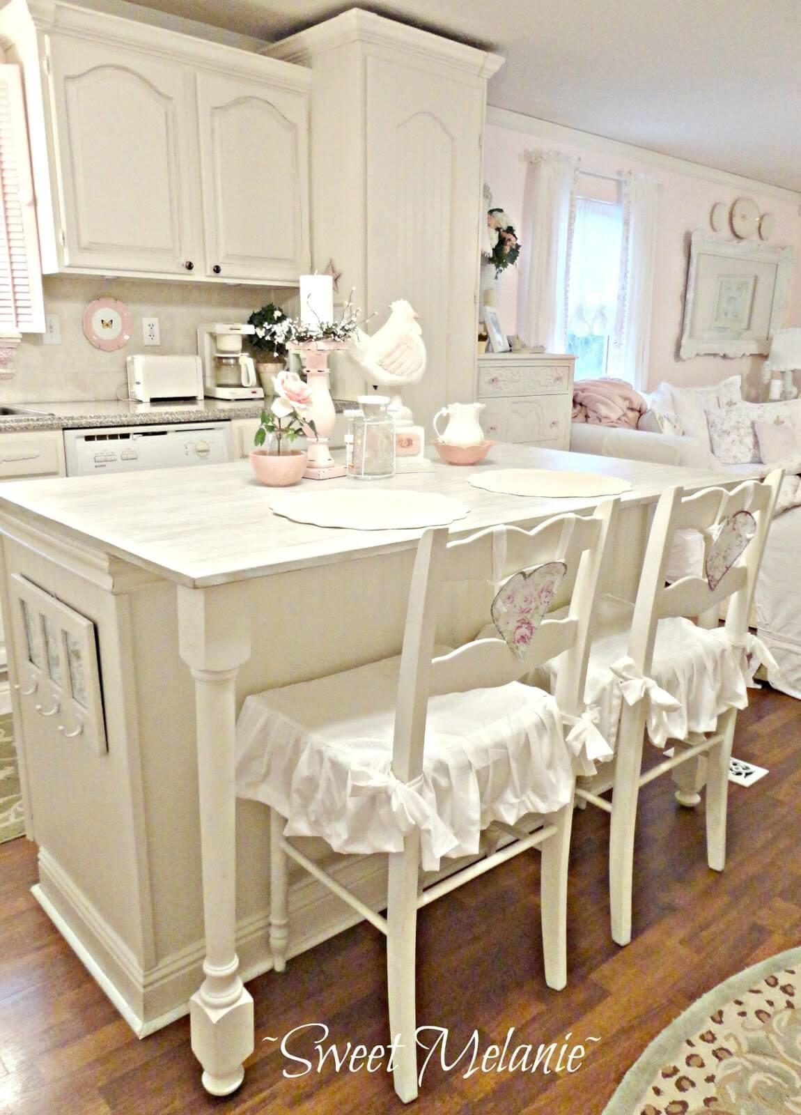 Best Shabby Chic Kitchen Decor Ideas Designs 2018