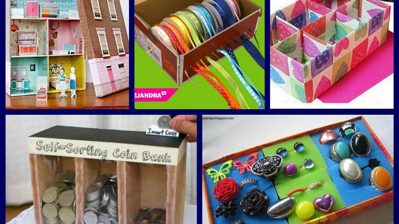 Best Shoe Box Crafts Ideas Recycled