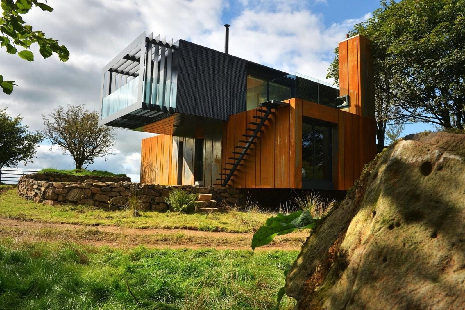 Best Sleek Shipping Container Architecture Modern 1781