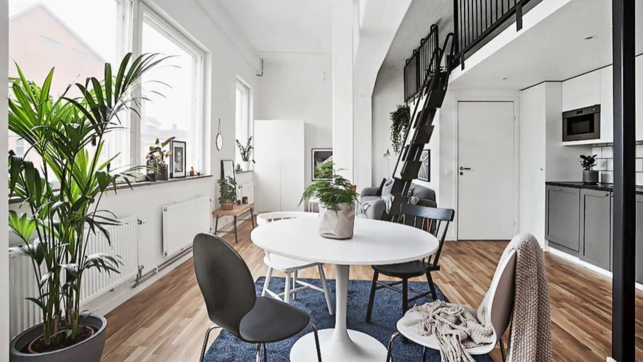 Best Small Scandinavian Studio Apartment Designs