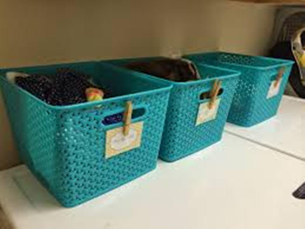 Best Teal Laundry Basket Get Tidy Space House Design