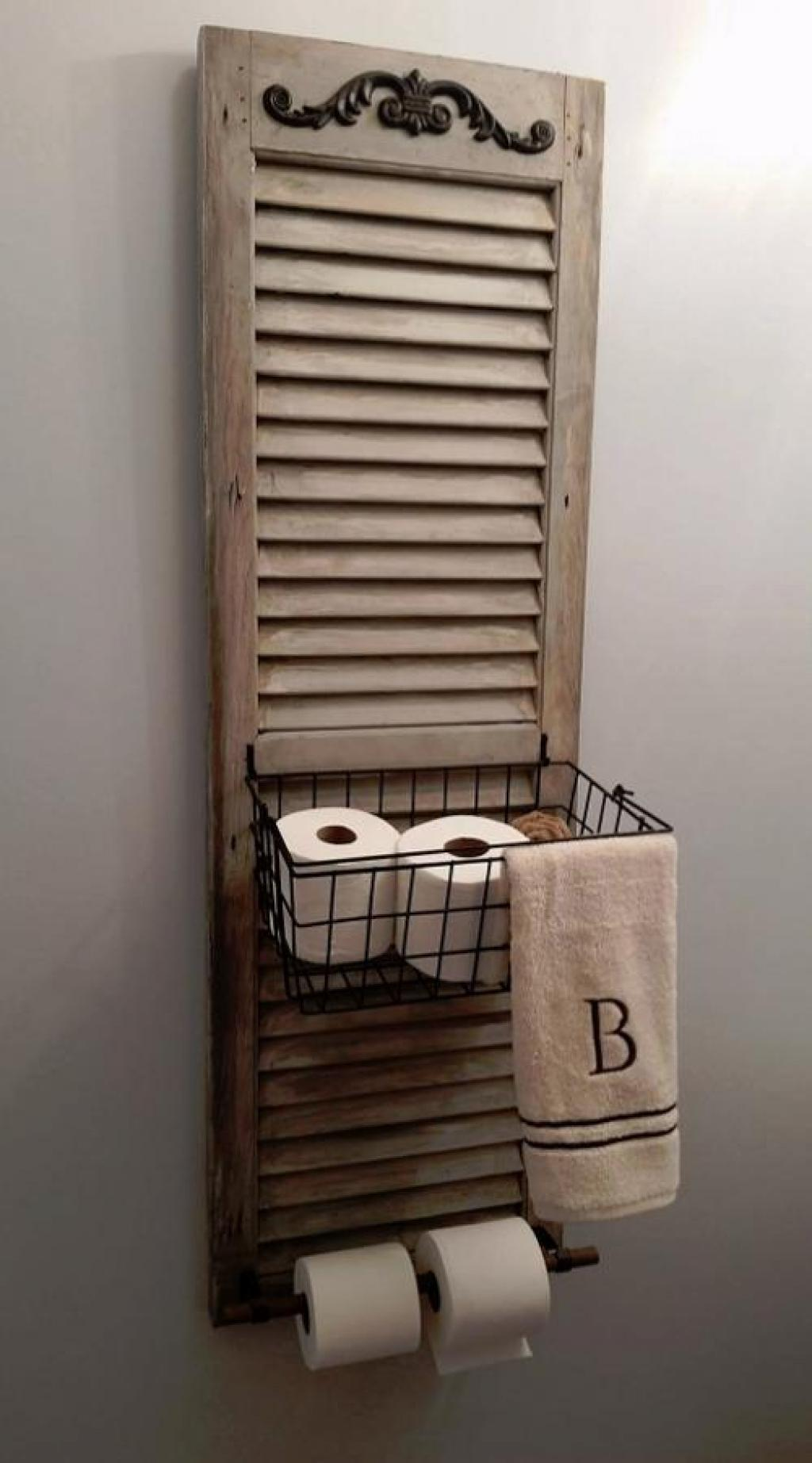 Best Toilet Paper Holder Ideas Designs 2018