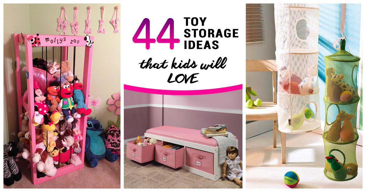 Best Toy Storage Ideas Kids Love 2018