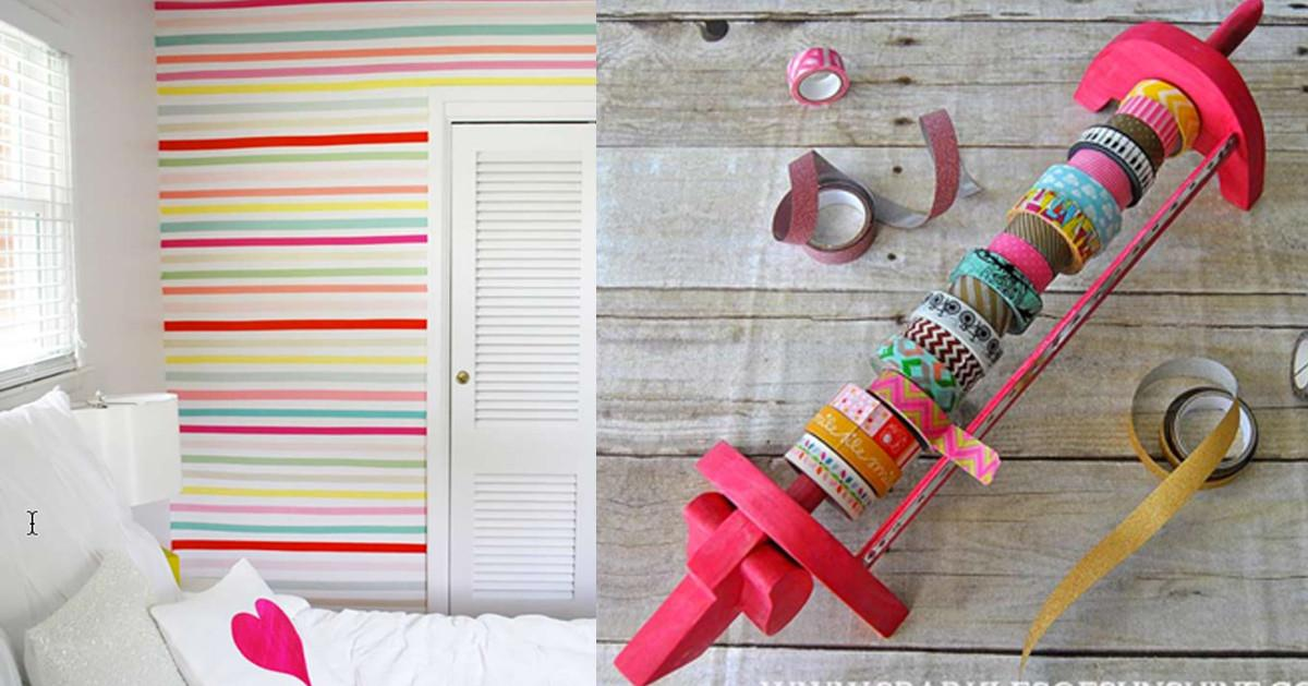 Best Washi Tape Ideas Ever Diy Projects Teens