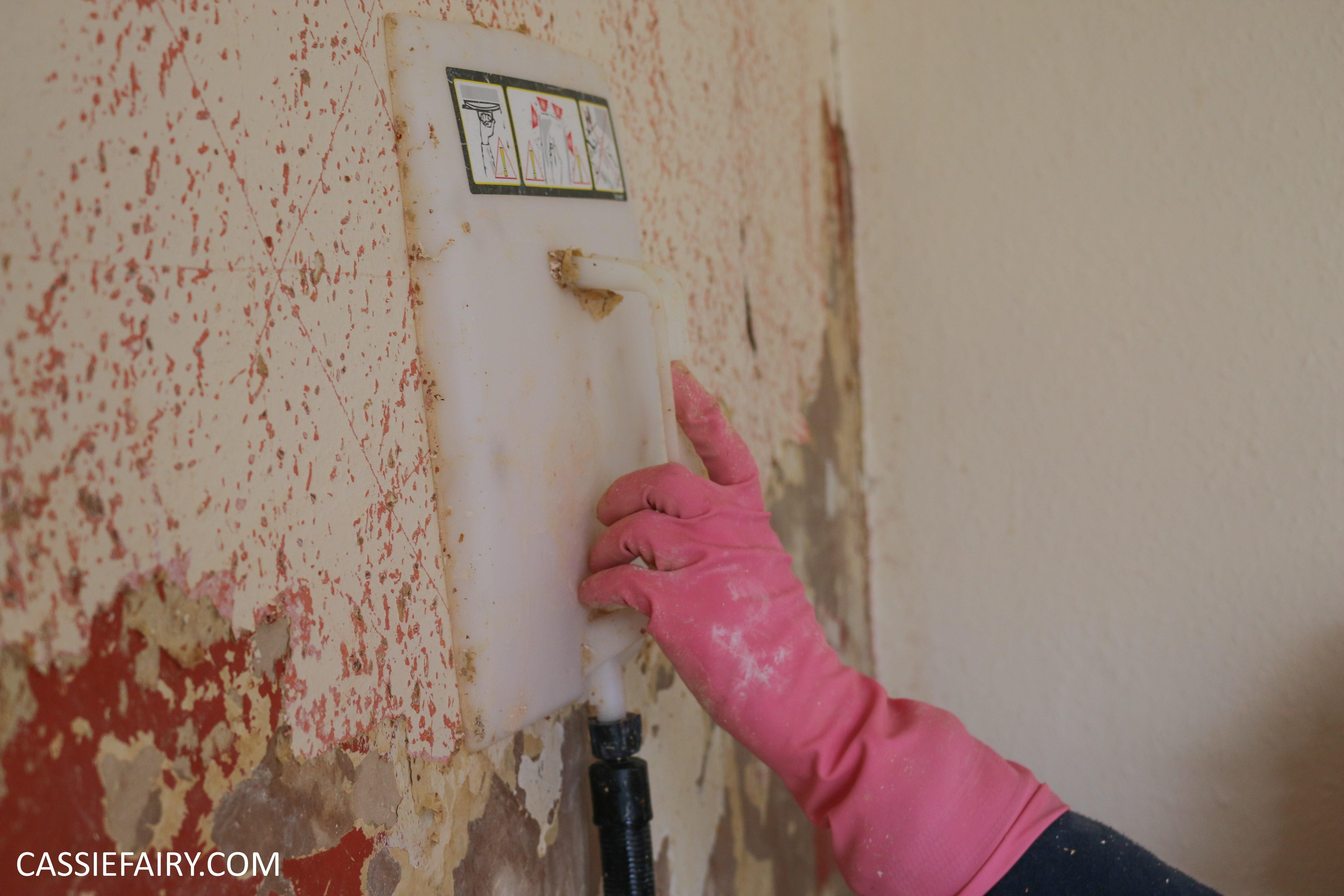 Best Way Remove Painted Woodchip