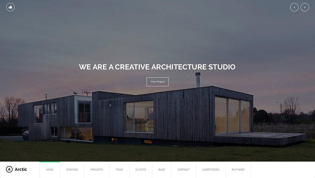 Best Wordpress Themes Architects Architectural