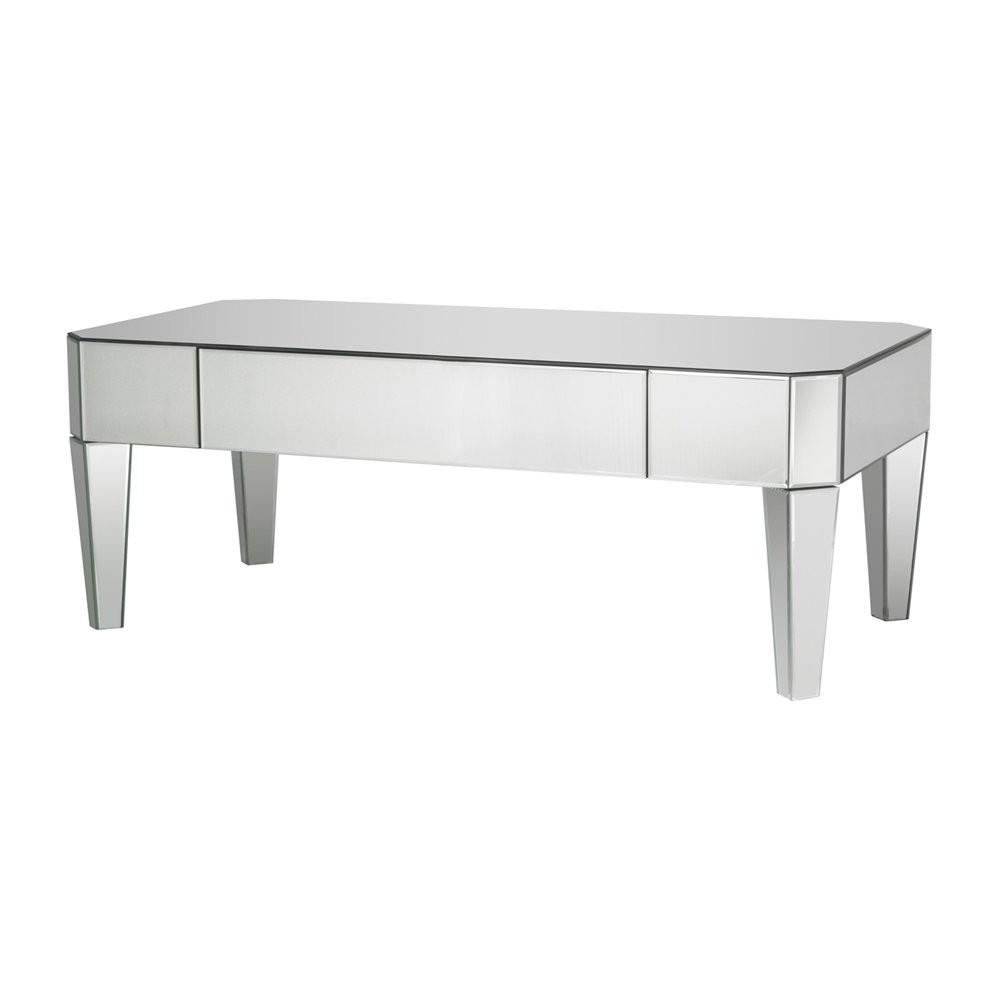 Bethel International Mx53 Mirrored Coffee Table Atg Stores