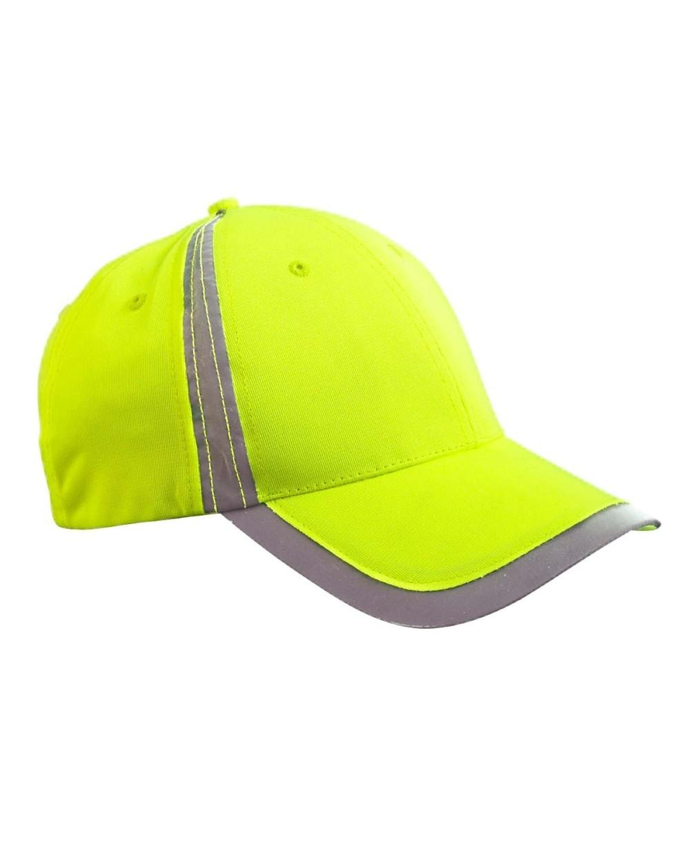Big Accessories Baseball Cap Reflective Accent Safety Hat