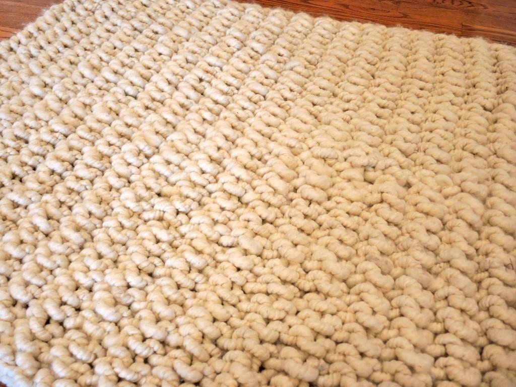 Big Bump Alpaca Rug Blueberry Hill Crafting