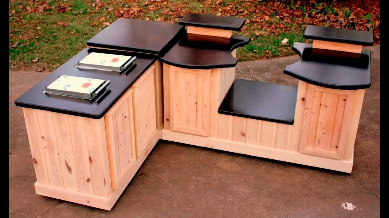 Big Green Egg Mobile Kitchens Concrete