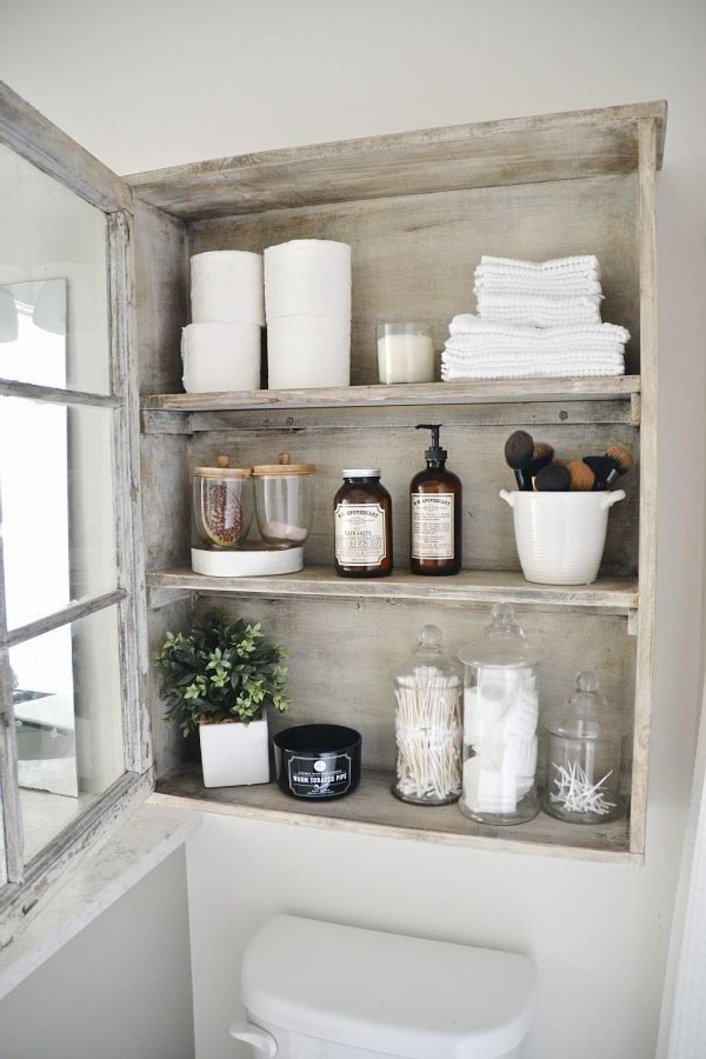 Big Ideas Small Bathroom Storage Diy