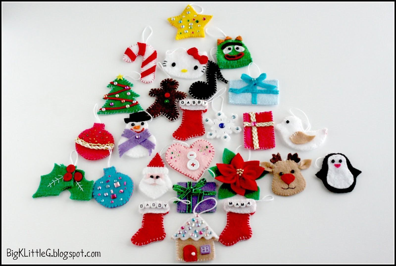 Big Little Diy Felt Christmas Tree Advent Calendar