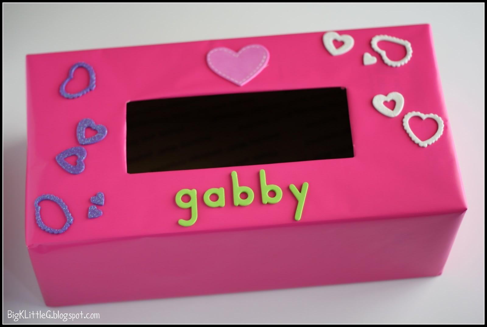 Big Little Diy Valentine Day Box Card Craft