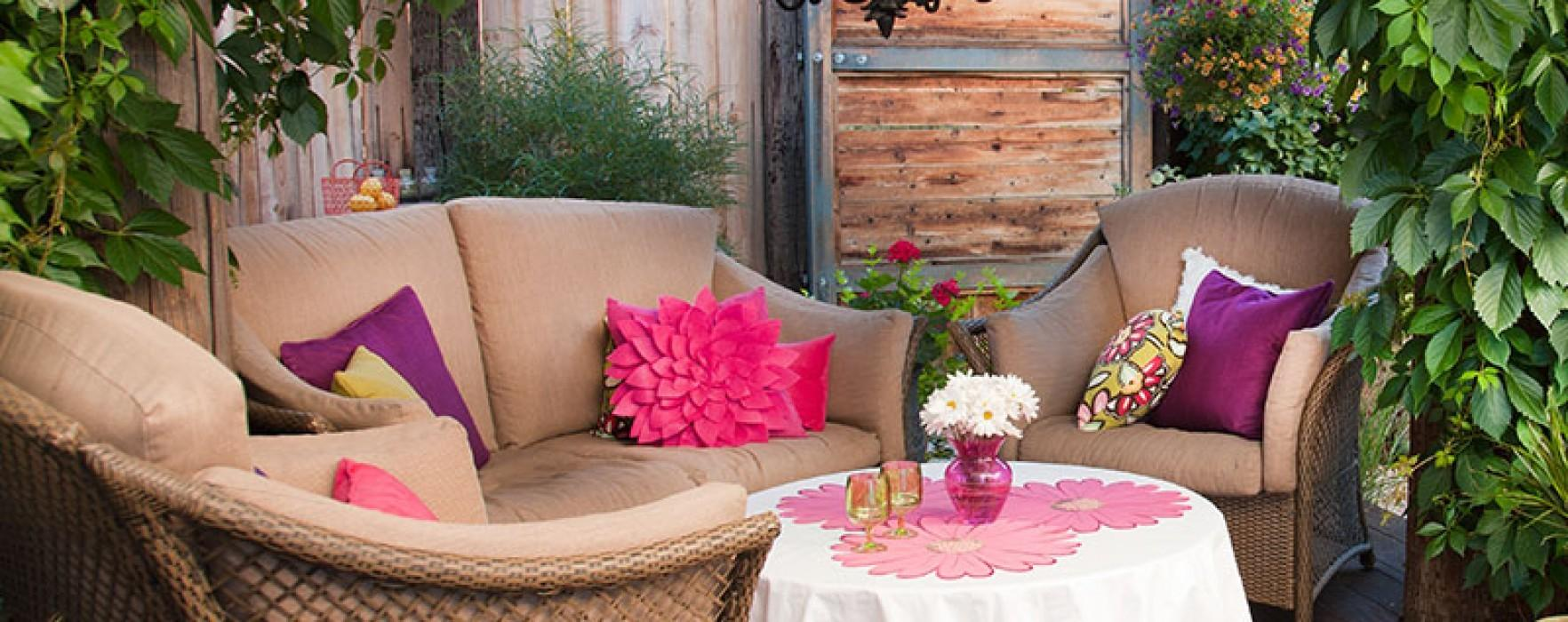 Big Outdoor Entertaining Ideas Small Spaces Better