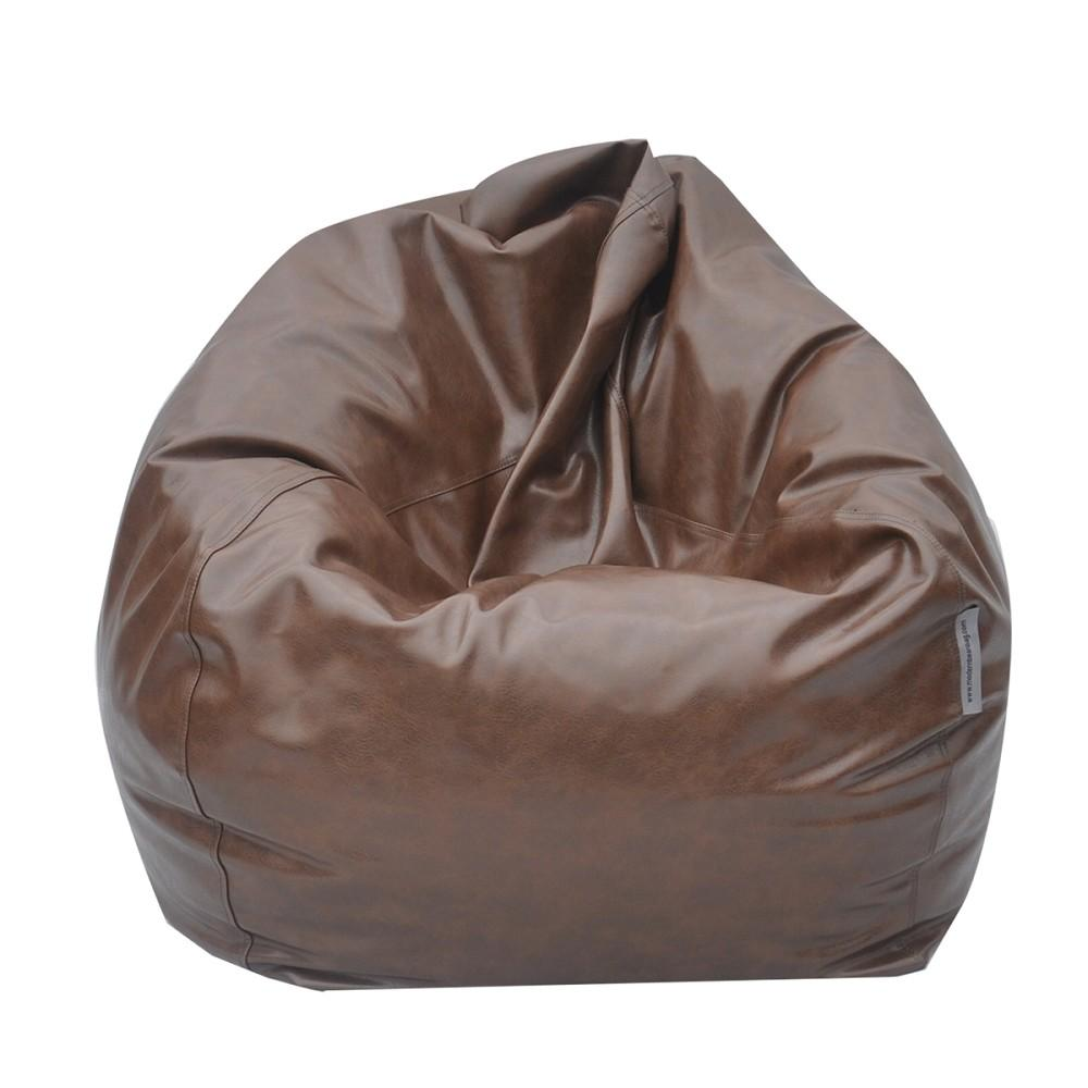 Big Pear Oversized Bean Bags Brown Modern