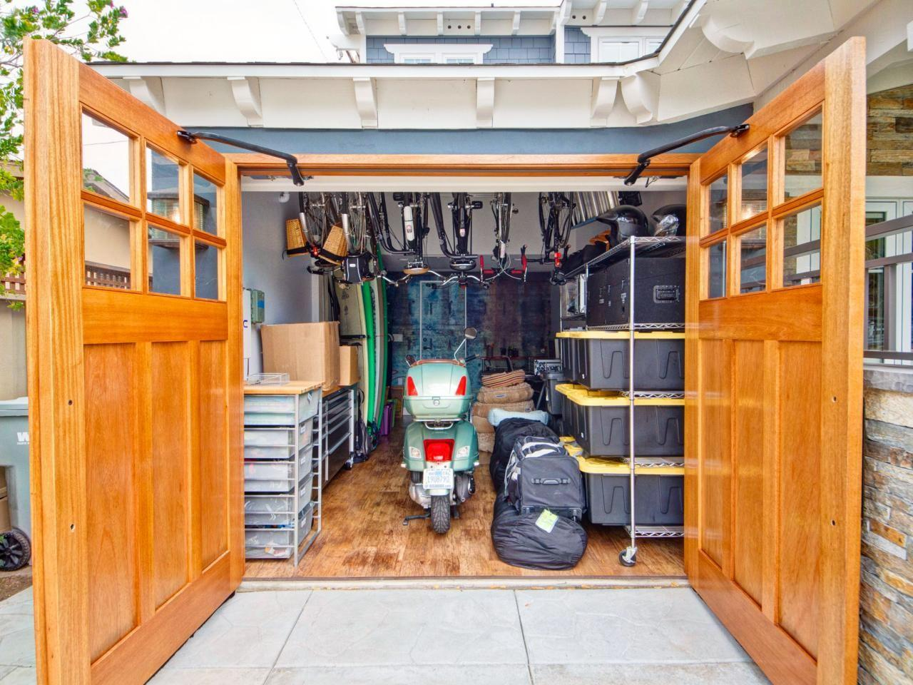 Bike Scooter Storage Ideas All Home Decor