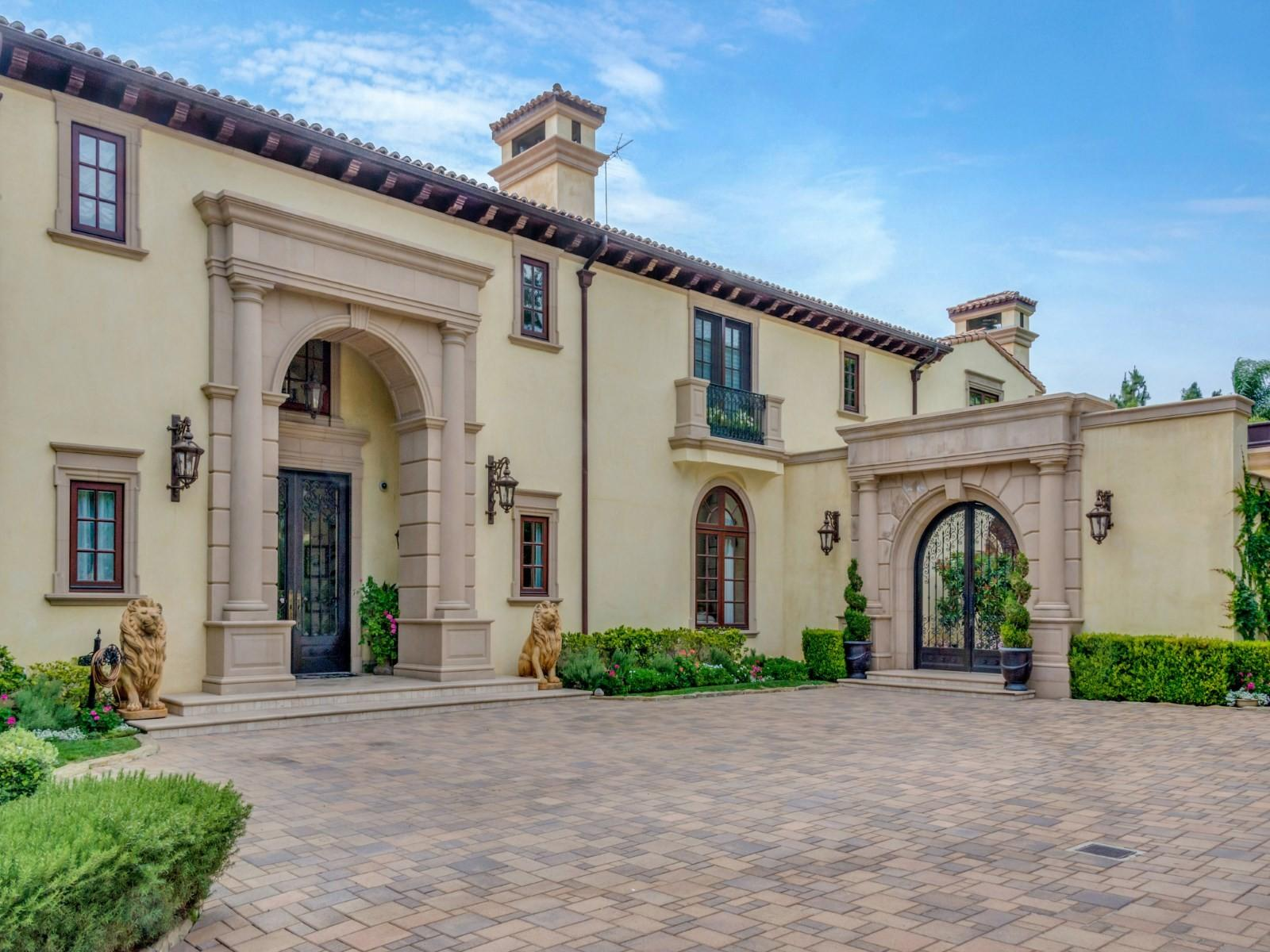 Billionaire Alki David Lists Beverly Hills Mansion