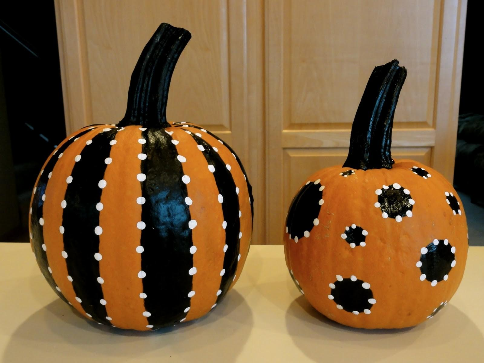 Birshykat Pretty Painted Pumpkins