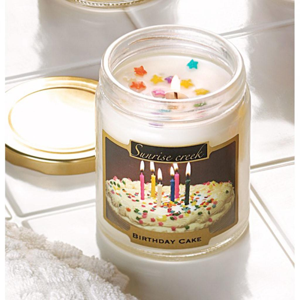 Birthday Cake Scent Candle Ideas