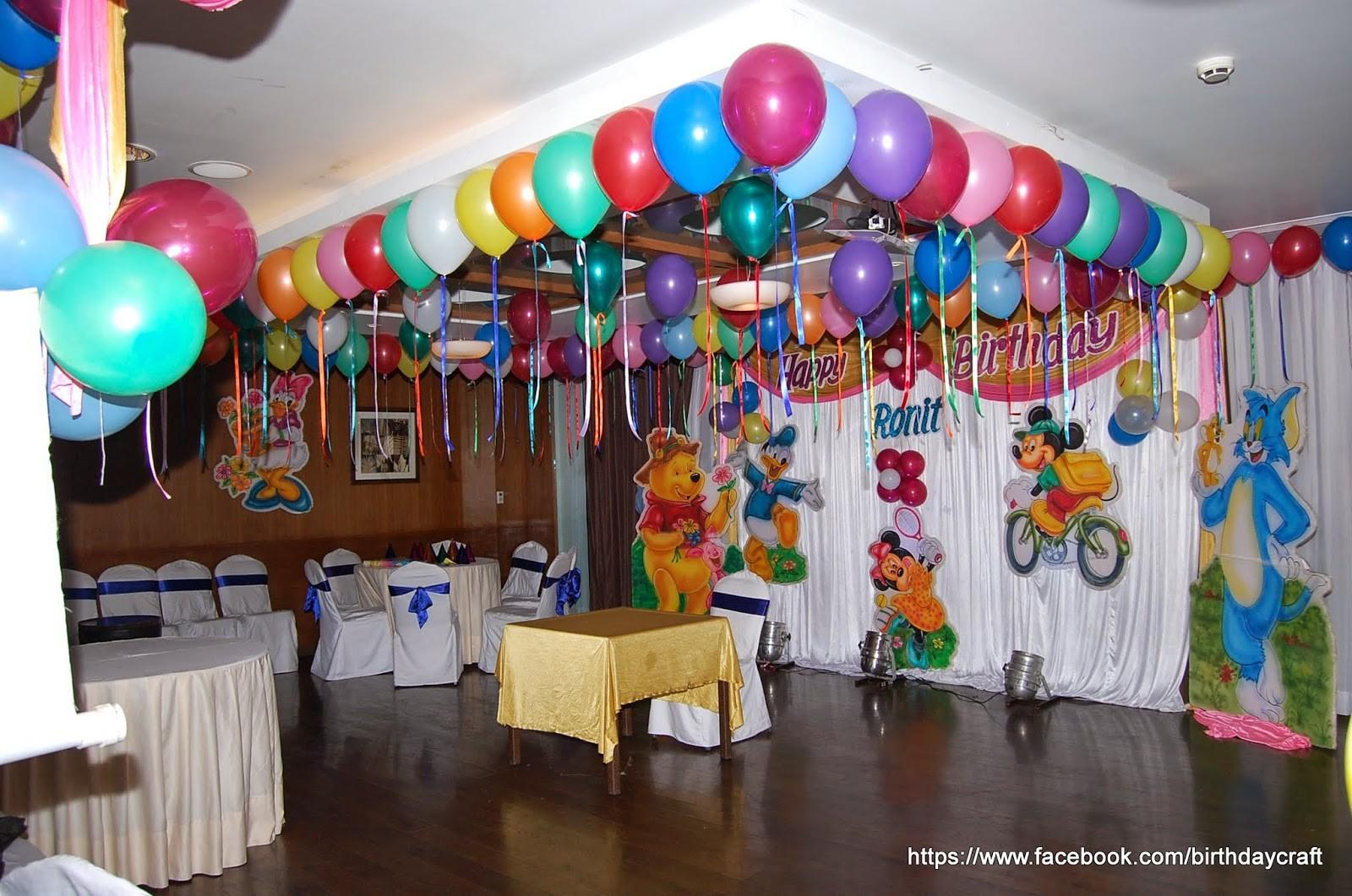 Birthday Decorations Hall Inspiration