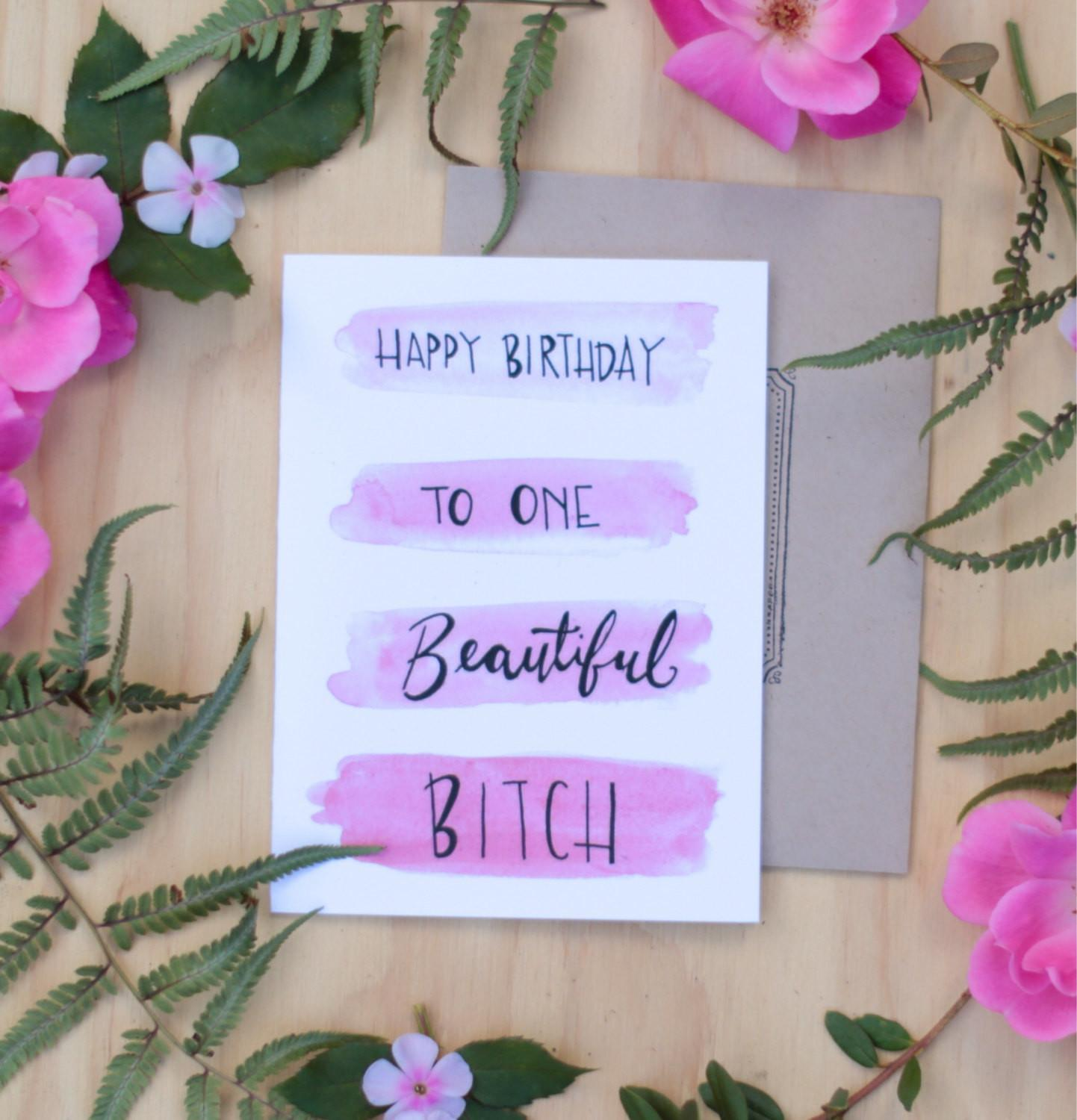 Birthday Greeting Card Best Friend Alanarasbach