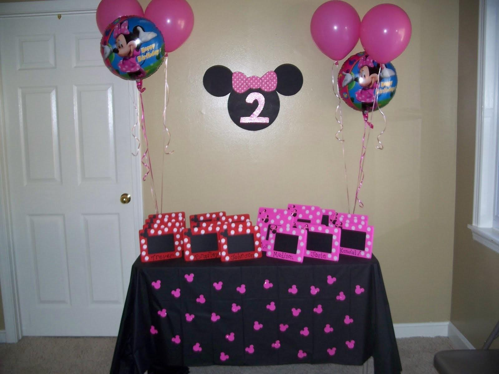 Birthday Parties Girls Minnie Mouse Party