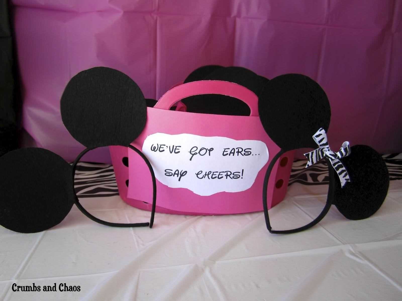 Birthday Parties Minnie Mouse Crumbs Chaos