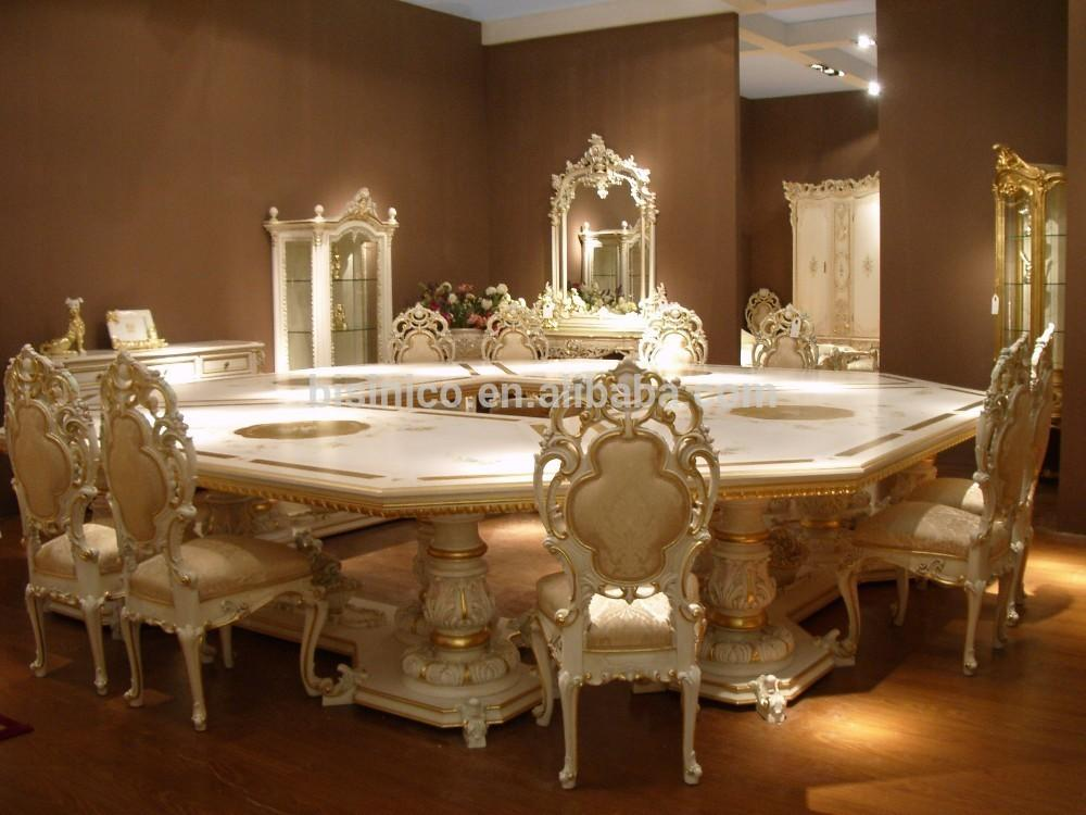 Bisini European Style Luxury Dining Room Set