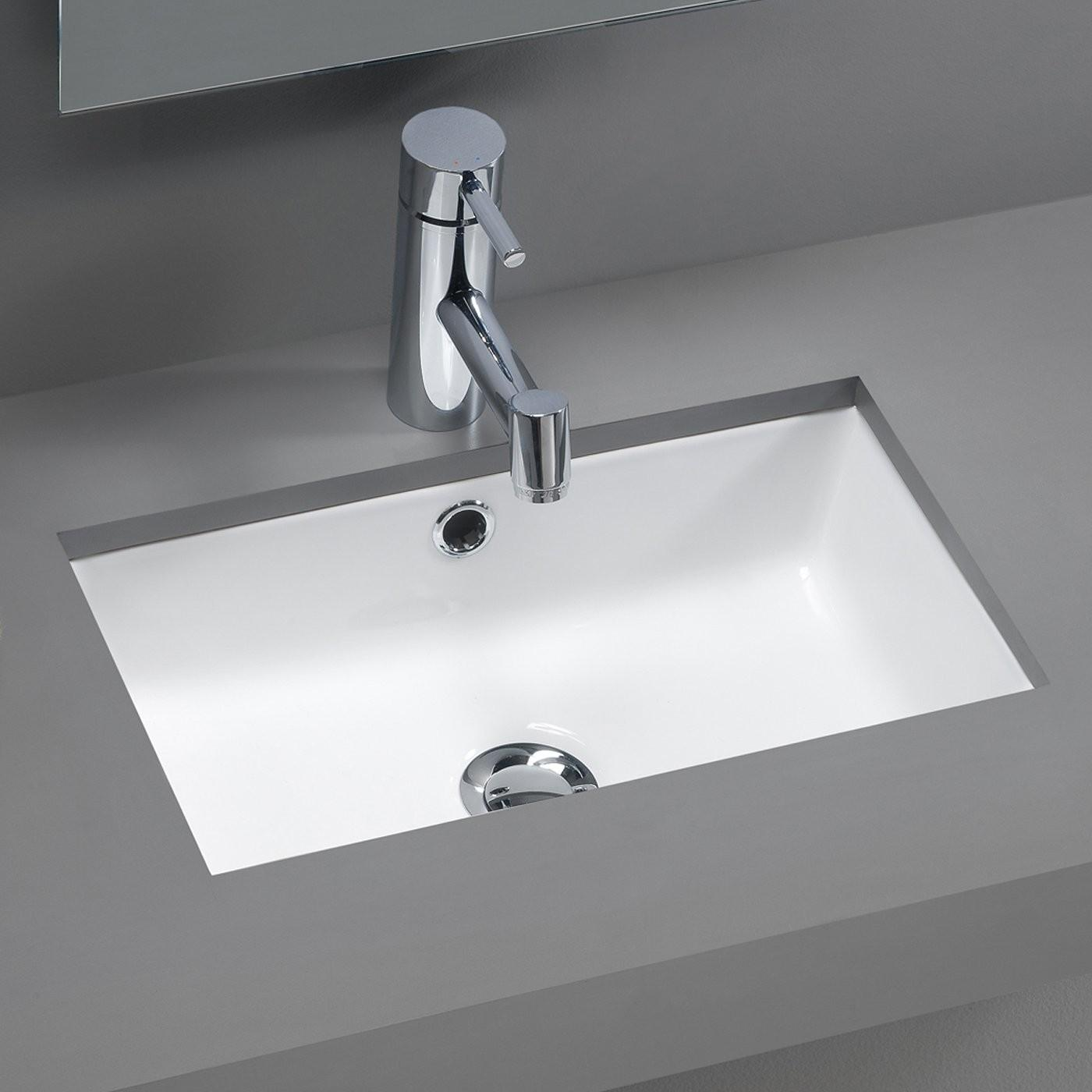 Bissonnet Traffic Agres Mini Under Mount Bathroom