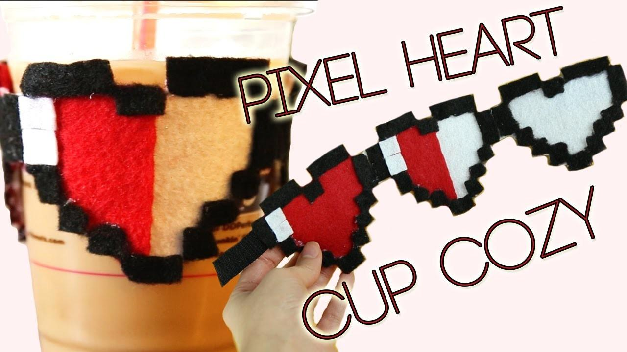 Bit Heart Mug Cozy Valentine Day Diy Gift