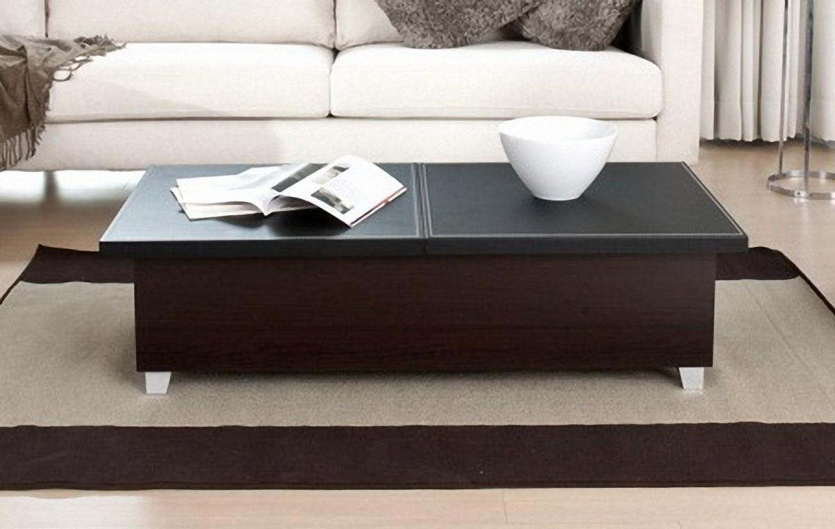Black Contemporary Coffee Table Tables