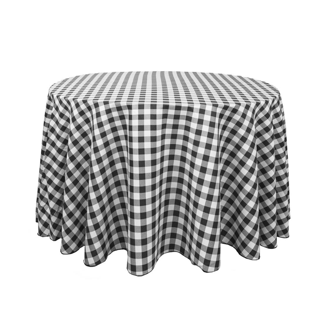 Black Gingham Tablecloth Home Design Ideas