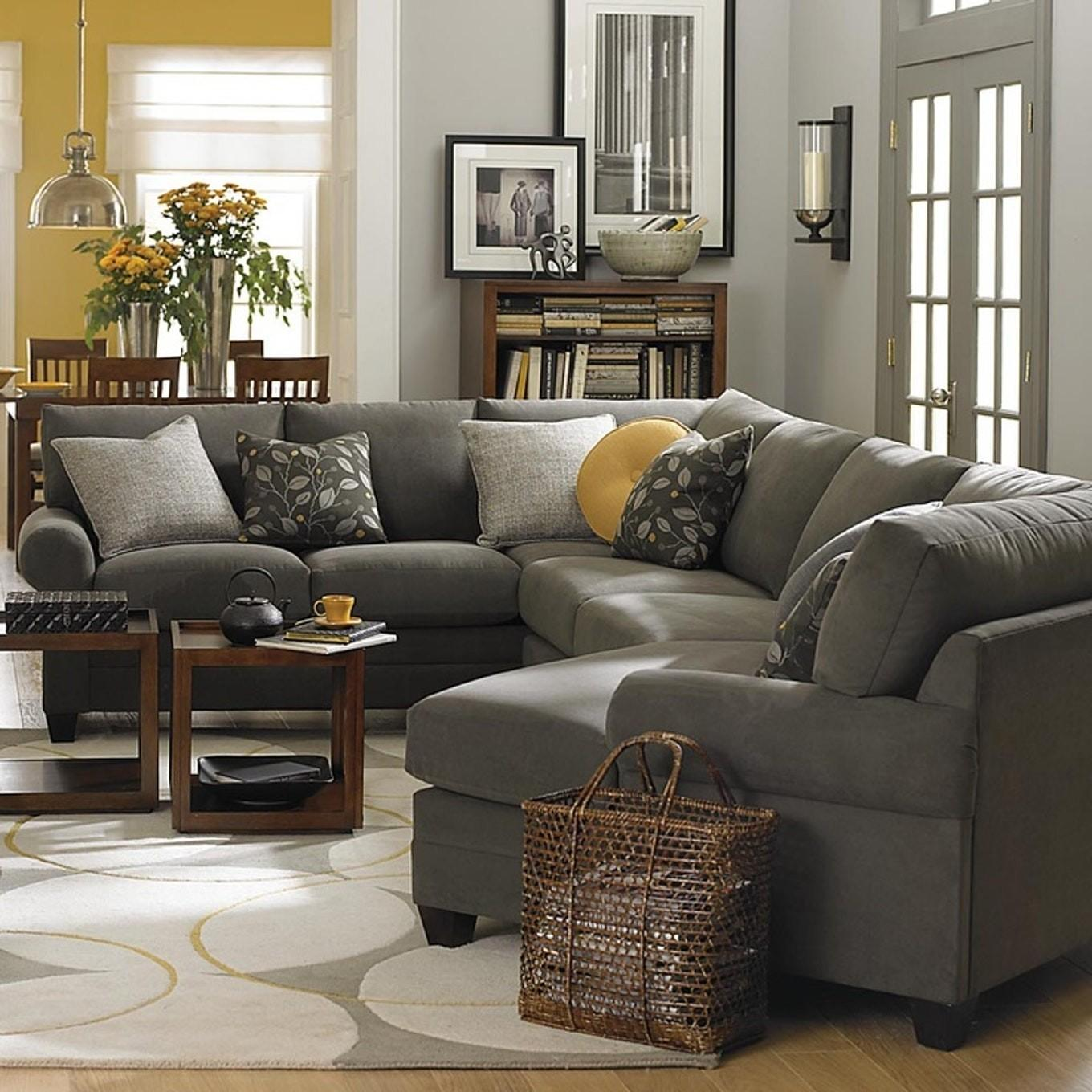 Black Gray Living Room Decorating Ideas Couch