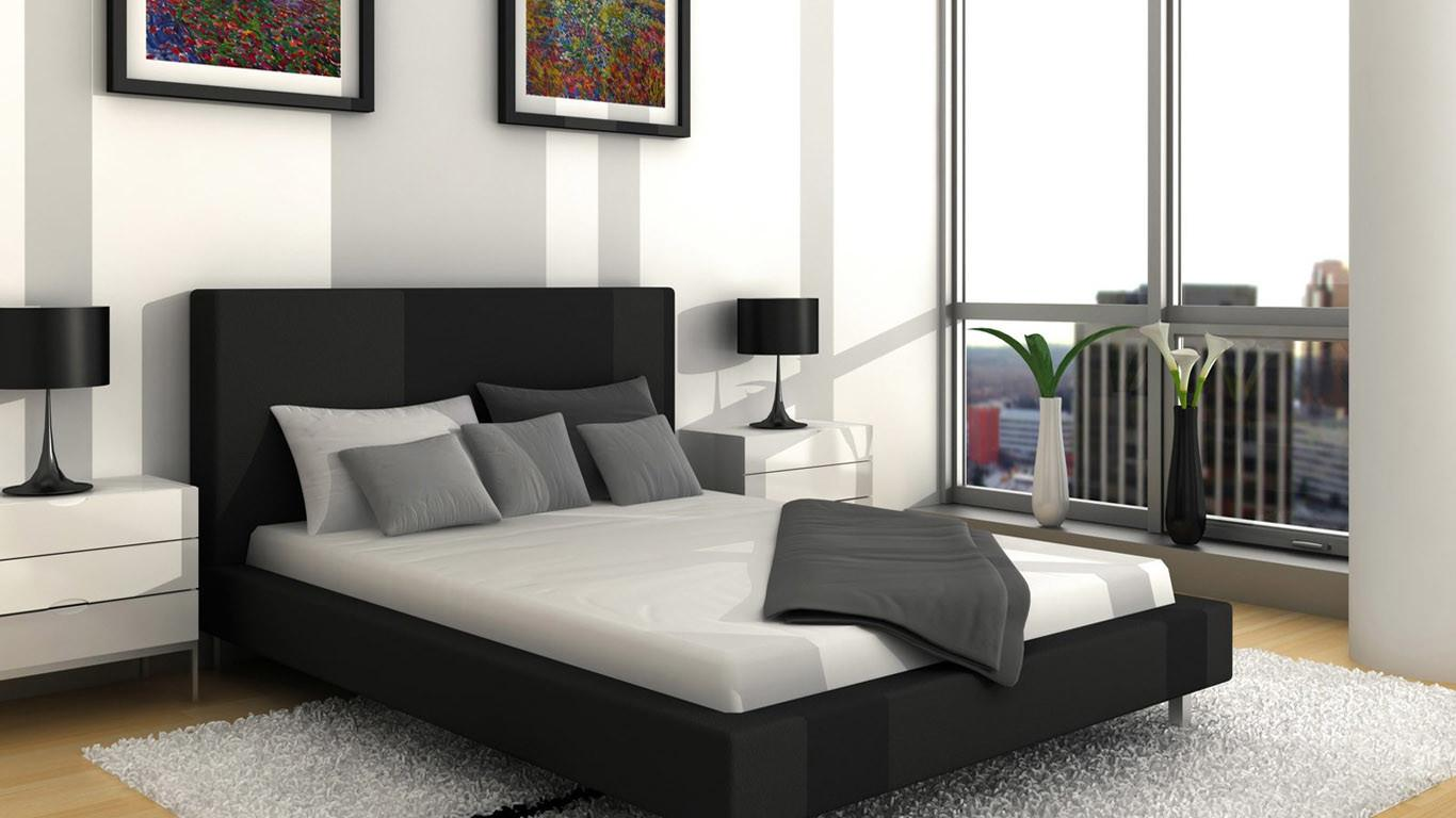 Black Grey Yellow Bedroom Decosee