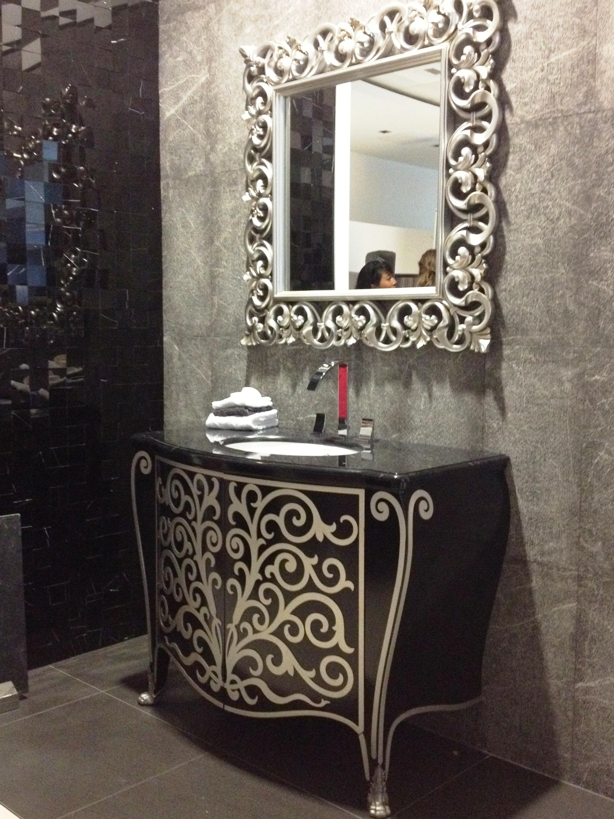 Black Silver Bathroom Loversiq