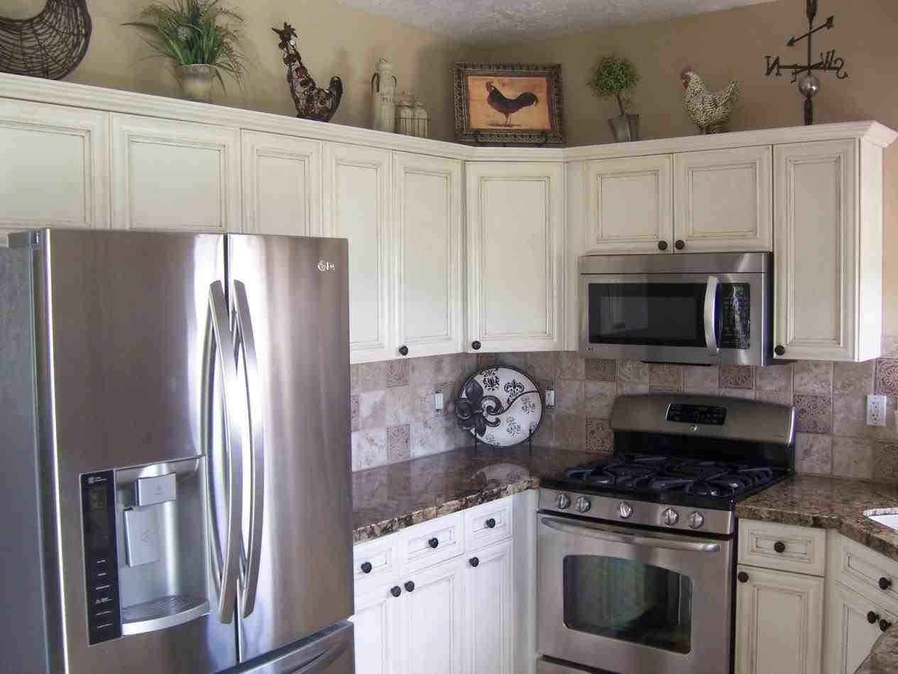 Black Stainless Steel Appliances White Cabinets