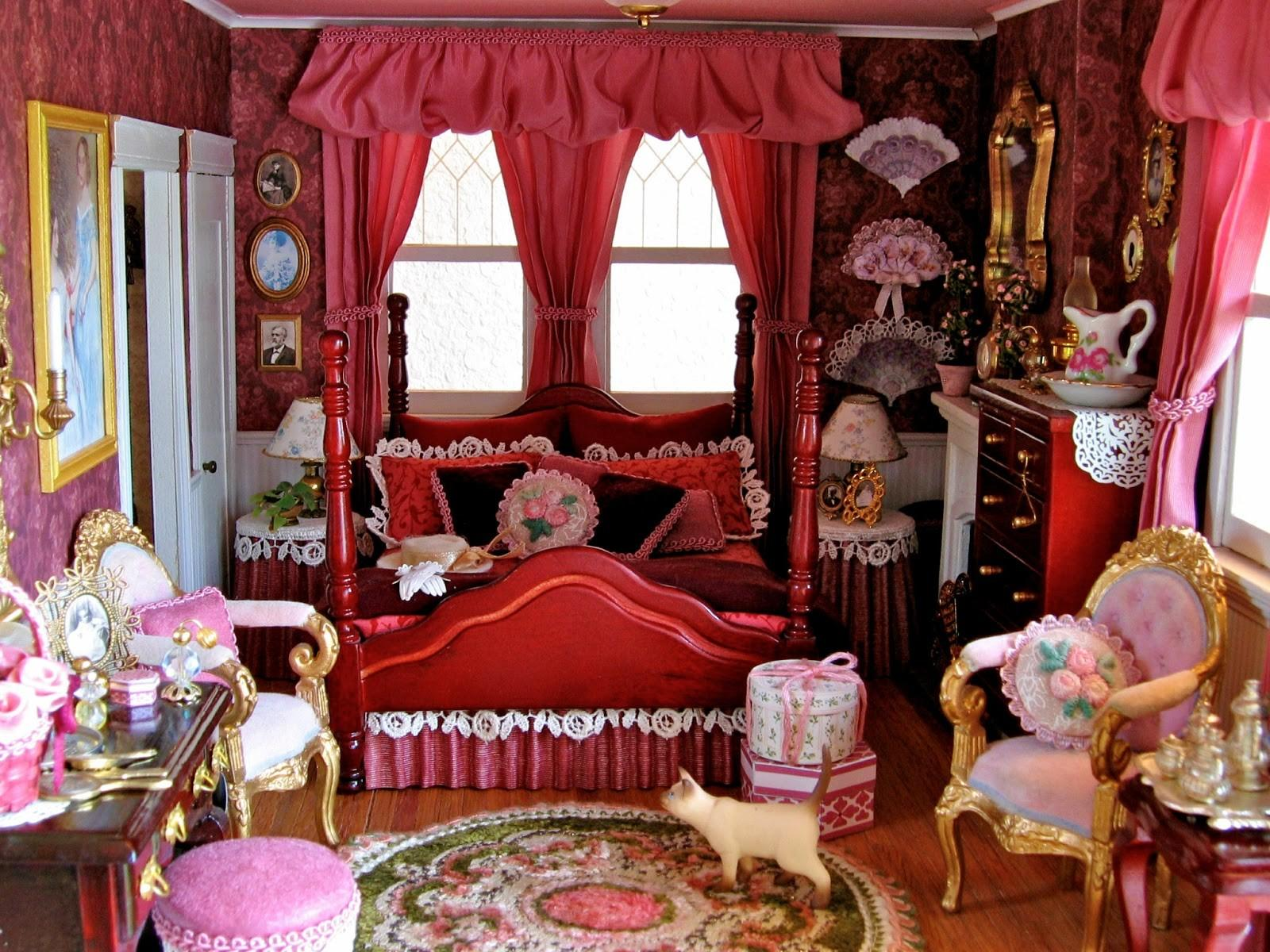 Black Victorian Bedroom Home Decorating Excellence