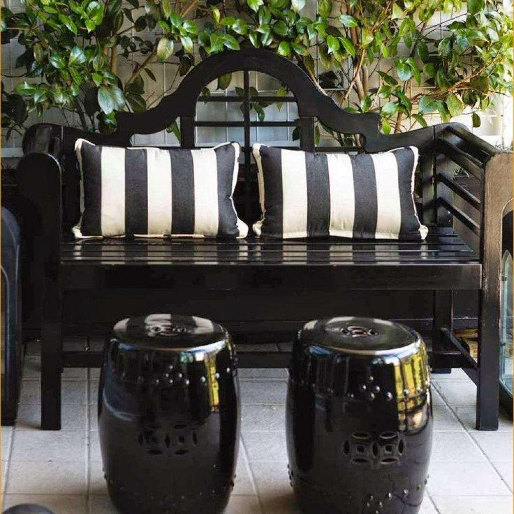 Black White Outdoor Furniture