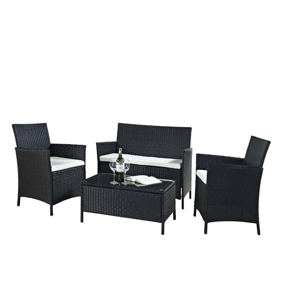 Black White Outdoor Furniture Home Design